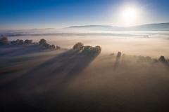 Brume matinale (Suisse)